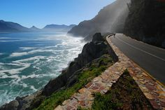 Drive along Chapmans Peak in Cape Town South Africa - Stay at the luxury Table Bay Hotel in Table Bay Hotel, Road Trip, Visit Dubai, Cape Town South Africa, Varanasi, Helsinki, Vacation Spots, Places To See, Beautiful Places