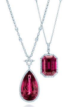 Angara 3.2 mm Ruby and Diamond Circle Journey Pendant in Rose Gold RR1RORr