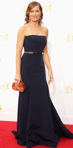 Emmy Awards 2014 Red Carpet Photos - Kim Dickens from #InStyle