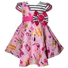 Grosir Baju Anak 2504 warna Pink tampak depan