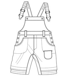 Kids Pants Drawing ... constructivism on Pinterest | Technical drawings, Google and Max azria