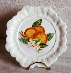 Check out this item in my Etsy shop https://www.etsy.com/listing/502810710/holland-mold-decorative-plate-vintage
