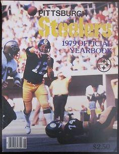 4d66e6da5 1979 Pittsburgh Steeler Official Yearbook Terry Bradshaw Franco Harris Jack  Ham