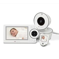 "Project Nursery 4.3"" Video Baby Monitor System with Convenient 1.5"" Mini Monitor - $259.99"