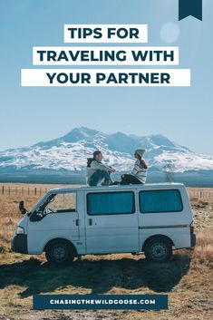 Vanlife tips for traveling full time with someone. We give our top tips for living in a tiny space as a vanlife couple. Rv Travel, Travel Goals, Travel Tips, Us Road Trip, Road Trip Hacks, Best Rv Parks, Minimal Travel, The Wild Geese, Rv Life