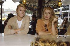 David Bowie Catherine Deneuve Les Prédateurs/ The Hunger 1982 by Jean-Claude Deutsch