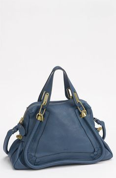 When oh when?!?! Been eyeing CHloe since..I cant remember. :( Chloé 'Paraty - Medium' Calfskin Leather Satchel available at #Nordstrom