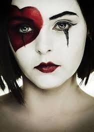 Image result for queen of hearts makeup