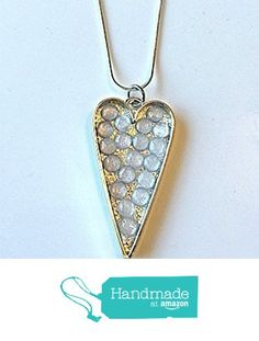 Silver and Rhinestone Shadow Box Heart Pendant Necklace from NatureAngels - Handmade, Upcycled and Vintage http://www.amazon.com/dp/B015HZF5MK/ref=hnd_sw_r_pi_dp_0JNfwb0AAZXNE #handmadeatamazon