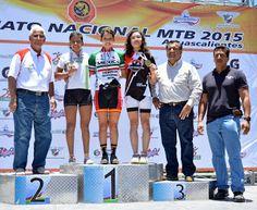 Ignacio Torres y Brenda Santoyo imponentes en el Campeonato Nacional de MTB ~ Ags Sports