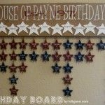 Birthday Board: But mine would be different/cuter...