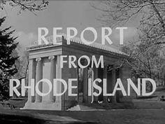 1940s American Social Values: Report from Rhode Island - CharlieDeanArchiveshttp://youtu.be/nIkKFBM-LdU