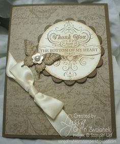 Incredibly special thank you card - undated entry, before 10/1/12 blog entry
