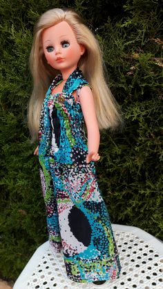 Vintage Barbie Dolls, Pattern, Dresses, Fashion, Vestidos, Moda, Fashion Styles, Patterns, The Dress