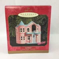 Hallmark Barbie Dream House Ornament 1999 Keepsake MIB #Hallmark