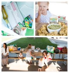 Looking for the perfect Labor Day Weekend party? Take inspiration from this family-friendly party Sweet Basil hosted.