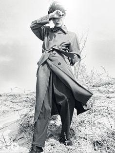 바람 부는 곳에서 DUST IN THE WIND <GQ> 2015  Model : 김원중