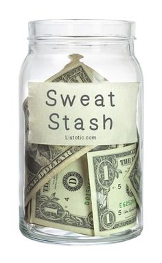 21 Inspirational Weight Loss Tips You've Probably Never Tried ~ Put a dollar in a jar every time you workout, then use the money to treat yourself!