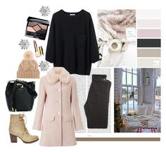"""""""winter style"""" by silencejune on Polyvore featuring Oris, Citizens of Humanity, Miss Selfridge, Steve Madden, Michael Kors, Loro Piana, Clarins and Christian Dior"""