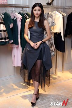 Jeon Ji Hyun Attends Boutique Opening and Considers Man From Another Star with Kim Soo Hyun | A Koala's Playground