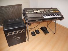 Elka Akkordeon Orgel plus Elka Leslie Box in Nordrhein-Westfalen - Alsdorf | Musikinstrumente und Zubehör gebraucht kaufen | eBay Kleinanzeigen