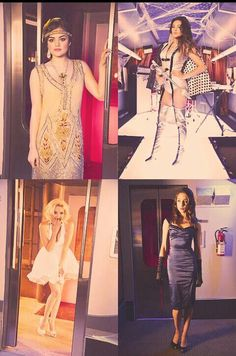 LOVE these costumes, especially Spencer's and Emily's! ♥