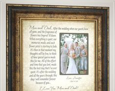 Wedding Quotes :Wedding Gift for Mom After The Wedding Wedding Picture Frame Mother of the Bride Gift cake topper wedding cake toppers Handmade Wedding Gifts, Wedding Gifts For Bride And Groom, Wedding Gifts For Parents, Wedding Day Gifts, Unique Wedding Gifts, Bride Gifts, Unique Weddings, Groom Gifts, Thank You Gift For Parents