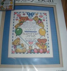 """COUNTDOWN TO CHRISTMAS CAT Plastic Canvas Wall Kit 12/"""" x 12/"""" Design Works HTF"""