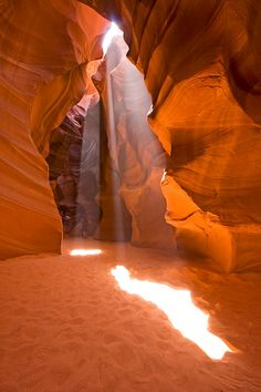 Light from Above, Antelope Canyon in Arizona