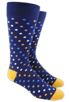 Spotlight - Navy (Men's Socks)