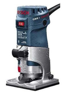 Bosch GMR1    * 220-240 volt Mini Router * Rugged metal base * Strong cutting power-550 watt  Price $300