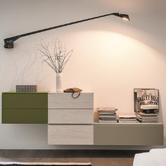 Amazing, elegant 'Pea' Wall Unit by Dall'Agnese