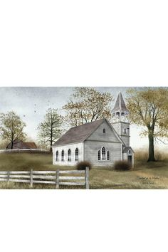 A beautiful canvas print by itself flipping a switch on the side of the canvas will turn on the church lights. Requires 1.5v AA batteries (not included).  Dimensions: 12 X 20 X 3/4 inches  Sunday Meeting Canvas by Ohio Wholesale Inc.. Home & Gifts - Home Decor - Wall Art Ohio