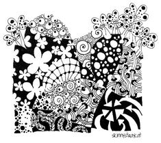 Zenflangle: Blooming Good Time by skinnystraycat, via Flickr