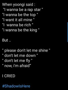 Bts Cry, Bts Theory, Don't Let Me Down, Bts Facts, Bts Tweet, Bts Lyric, Bts Book, Bts Quotes, Bts Playlist