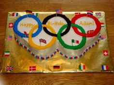 8 Olympic Pinterest boards to follow:    5) Olympics Party by Julie {AngryJulie}    Everything you need to throw your own Olympics-themed gathering.