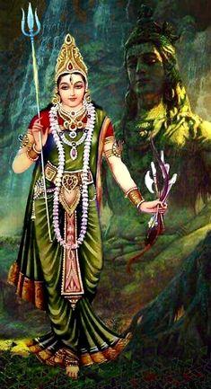 You have to Parvati. Source by interiorrdesignnn Indian Goddess, Goddess Lakshmi, Goddess Art, Durga Maa, Shiva Shakti, Shiva Linga, Shiva Meditation, Durga Images, Lord Shiva Family