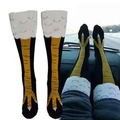 Trendy Women Sexy fashion Thigh High Hot Sale Chicken Toe Feet Ladies Creative Socks Mens Thin