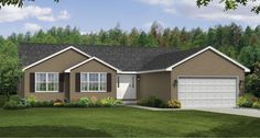 Ranch Style Floor Plans: The Stafford | Wayne Homes - Our plan  :) our new home