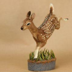 Needle Felted Deer | Recent Photos The Commons Galleries World Map App Garden Camera Finder ...