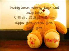 Korean kid's song Gom Se Ma Ri (Three bears). every korean knows this song .