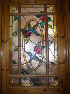 Internal Stained glass door by DIYguys, via Flickr