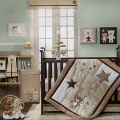 Baby Bear Bedding By Carters Teddy Crib Colors Of Room