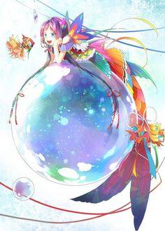 fantasy,art,sereias