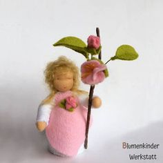 Blumenkinder Frühling - I.Da-Puppen Blumenkinderwerkstatt