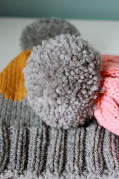 Syyspipot_tupsut Knitted Hats, Winter Hats, Malta, Colours, Knitting, Pattern, Diy, Beanies, Yarns