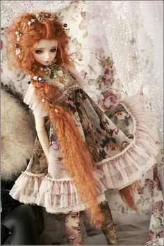 ginger haired doll