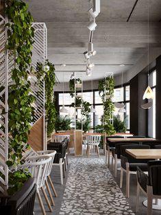 Restaurant Seating Design Retail 55 New Ideas Café Restaurant, Restaurant Seating, Coffee Shop Interior Design, Coffee Shop Design, Design Café, Floor Design, Modern Restaurant Design, Trendy Furniture, Hospitality Design