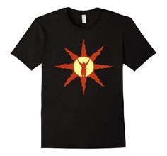 Men's Praise The Sun T Shirt For Dark Souls Lovers 2XL Black