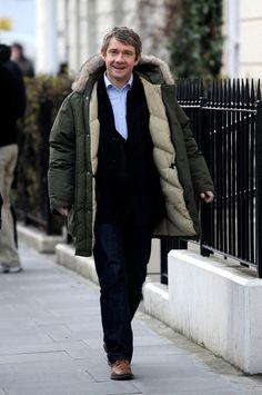 I love Martin Freeman. Judge if you must...